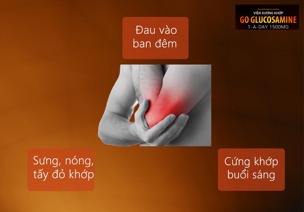 3 triệu chứng viêm khớp
